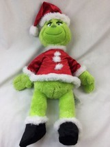 Build A Bear BAB Dr Seuss Grinch The Movie 2018 Stuffed Plush With Sound Box  image 2