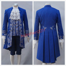 2017 Movie Beauty And The Beast Prince Adam Costume Beast Costume Cospla... - $76.49