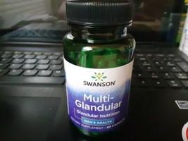 Swanson Raw Multi-Glandular For Men 60 Capsules - $12.30