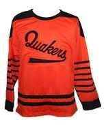 Custom Name # Philadelphia Quakers Retro Hockey Jersey New Orange Any Size - $54.99+