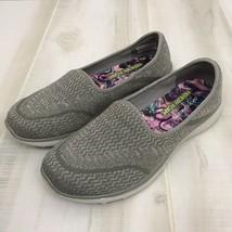 Skechers 23308 Womens Microburst All Mine Slip On Sneakers Gray Lt. Wt. ... - $23.72