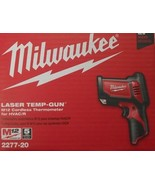 MILWAUKEE 2277-20 M12 12 Volt Cordless Laser Temp-Gun Thermometer HVAC/R - $205.92