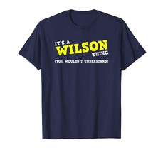 Special shirts - Funny Wilson Matching Family Name Shirt Gifts Men - $19.95+