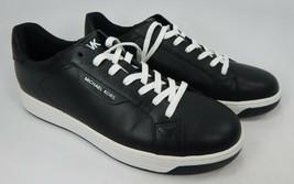Michael Kors Keating Misura 10 M Donna Pelle Allacciate Sneakers Nero 43... - $83.14