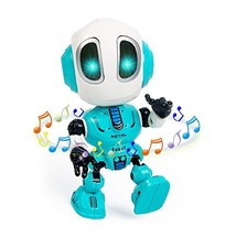 Jorttoys Talking Robot Toys for Kids, Mini Robot Toys Repeats What You Say with