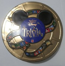 1997 The Wonderful World Of Disney Trivia Game Mattel Board Game Never Used - $34.64