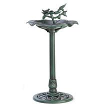 Outdoors Verdigris Birdbath 10039617 - $31.65