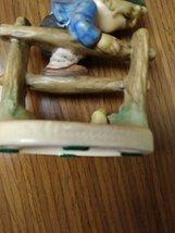 "Authentic Goebel M.J. Hummel ""Retreat To Safety""Figurine #201 2/0 Early Goebel 1 image 4"