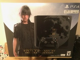 PlayStation 4 1TB Console: Limited Edition Final Fantasy XV Deluxe - Bla... - $1,975.99