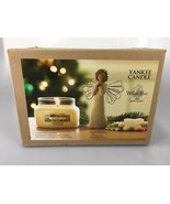 Yankee Candle Christmas Cookie House Warmer 9.5 oz Angel Wishes Willow T... - $34.30