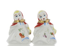 """Hull Little Red Riding Hood 3"""" Salt and Pepper Table Shaker Set AAA image 1"""