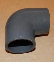 "PVC 90 Degree Elbow 1 1/2"" Spears Grey D2467 SCH 80 USA PVC-I NSF-pw 137Y - $7.49"