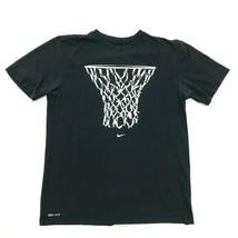 Nike Maglia Basket Dunk Man Rete Illustrato Media Drifit Jersey Nera - $23.72