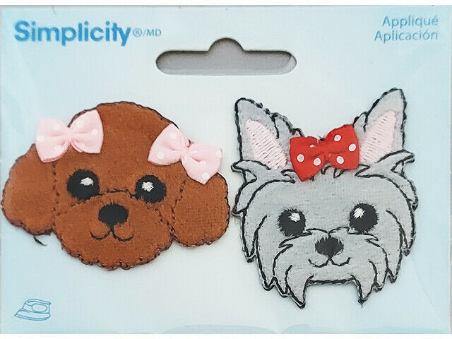 Simplicity Iron-On Applique, Dog and Cat #193039900