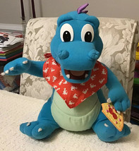 """Playskool Dragon Tales HUNGRY HICCUPING ORD 12"""" Plush - Vintage 1999 - $29.70"""