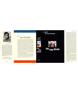 Jack Kerouac ON THE ROAD facsimile dust jacket for first edition or earl... - $21.56