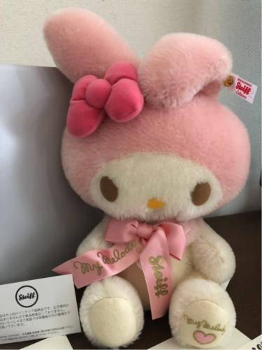 4fc6a23f3 My Melody x Steiff Collaboration Mohair Doll and 50 similar items