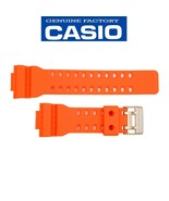 CASIO G-SHOCK Watch Band Strap GA-110MR-4A Original Orange Rubber - $35.95