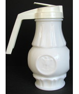 1970s Syrup Pitcher Wheaton Milk Glass Coin Eagle Patriotic - £38.66 GBP