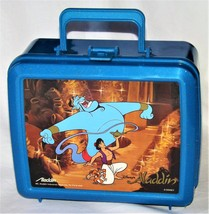 1992 Aladdin Plastic Lunch box w/Thermos Aladdin Industries - $39.95