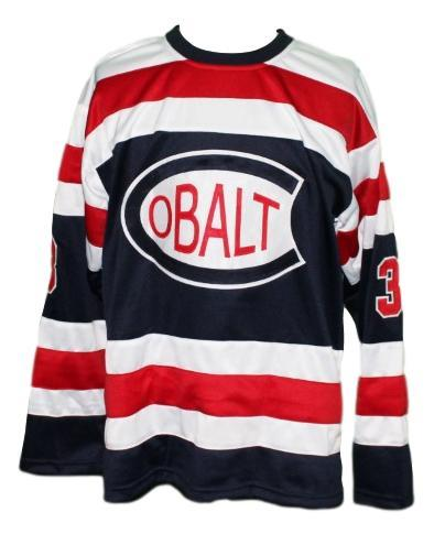 Cobalt silver kings retro hockey jersey   1
