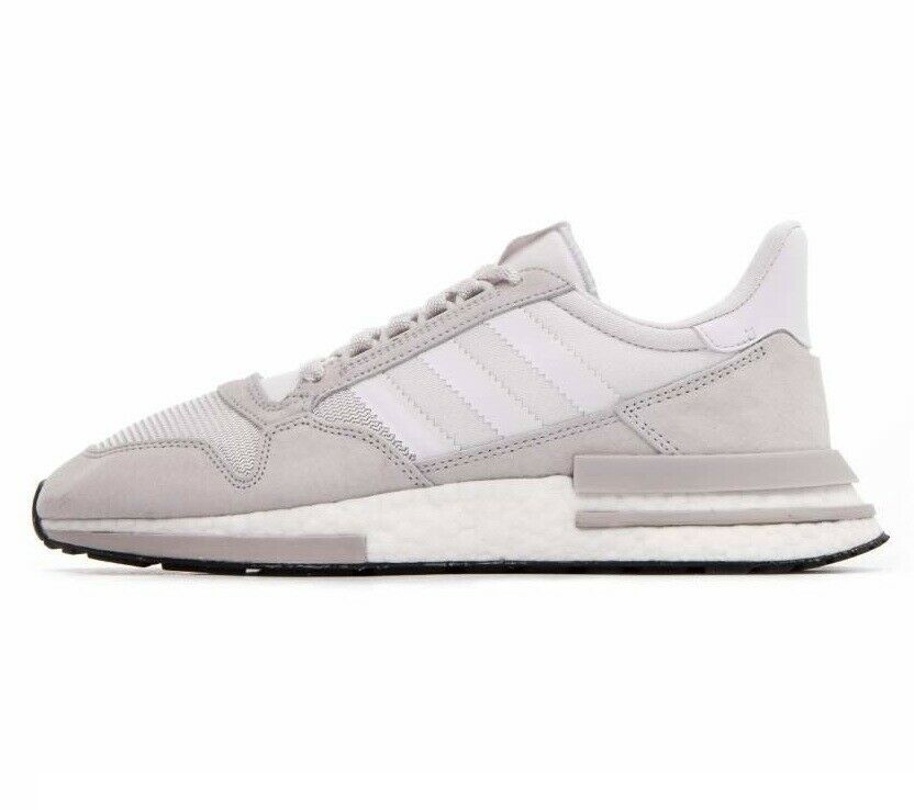 Adidas Originals ZX 500 RM Boost Mens Running Shoes Cloud White Gray B42226 image 3