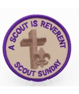Boy Scout Scout Sunday Patch A Scout is Reverent - $8.38