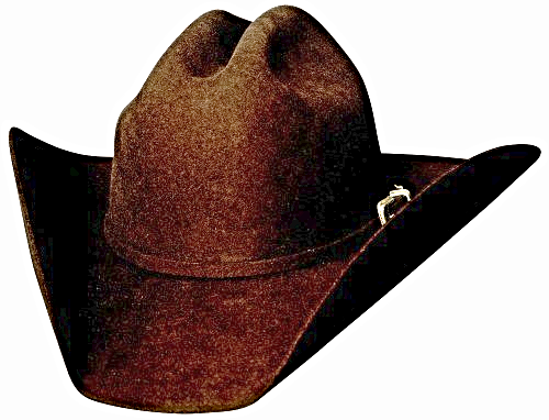 Primary image for Bullhide Justin Moore Back Roads 6X Wool Cowboy 3 Piece Buckle Set Black Brown