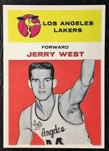 1961 Fleer #41 Jerry West Rookie Reprint - MINT - LA Lakers - $1.98