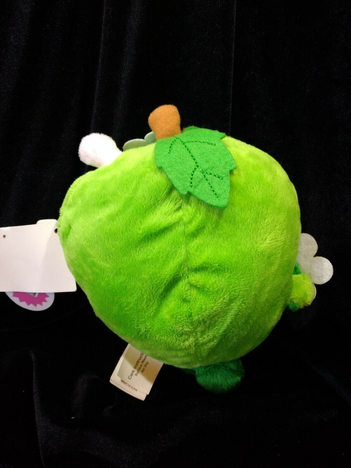 Shopkins Plush Lot of 3 New with tags. Ice Cream Bar, Cookie, Green Apple
