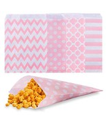 Biodegradable Paper Candy Cookie Bags, NUIBY Food Safe Favor Bags, Buffe... - $15.34