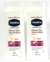 (2 Pack)  Vaseline Intensive Care Mature Skin Rejuvenation Body Lotion 13.52 Oz - $23.75