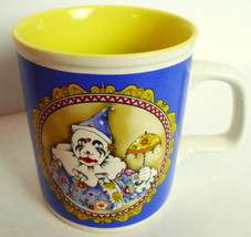 Harlequin Clown Coffee Mug Vintage 1985 Enesco - $39.55
