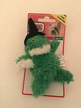 Kong Active Dog Toy Halloween Hat Green Fuzzy Plush - $5.89