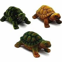 3 BOBBING HEAD TURTLES animal toy reptile tortoise bobble moving car das... - £7.29 GBP