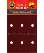 CRAFTSMAN 911177 - 1/4 Sheet - 100 Grit - Pre-Punched - 5 Sandpaper Bundle - $7.49