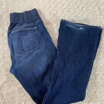 Calvin Klein Jeans Sz 8 Womens Lean Stretch Bootcut Blue - $18.49