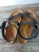 Used Birkenstock Yara Women Summer Sandals Sz 37 L6 M4 Excellent Condition - $49.45
