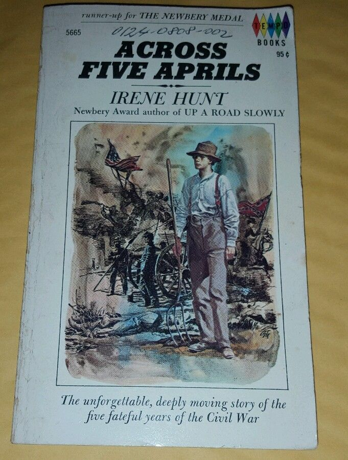 an analysis of the hard times of civil war in across five aprils by irene hunt A list of all the characters in across five aprils the across five aprils characters across five aprils irene hunt comes of age during the civil war.