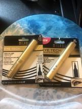 Lot of 2 Milani Eye Tech Felt Tip Liquid Eye Liner  gold tube #01 Black lot of 2 - $9.90