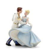 Lenox Disney Princess Cinderella & Prince Charming Figurine Wedding Cake... - $197.51