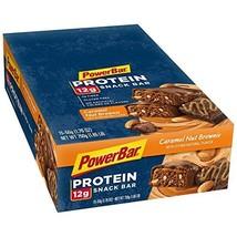 PowerBar Protein Snack Bar, Caramel Nut Brownie, 50 Gram, 1.76 Ounce (Pa... - $27.77