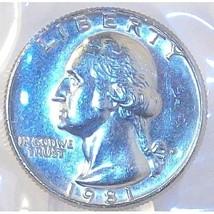 1981-P Washington Quarter MS65 In The Cello #454 - $4.79