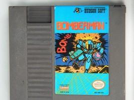 Vintage BOMBERMAN NES Nintendo Video Game Cartridge 1985 Japan - $29.65