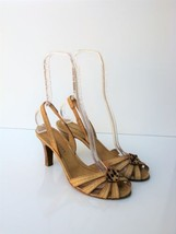 Caged Sandals Marc Jacobs Strappy Slingback Studded Caged Toe Sandals 38.5 $435 - $17.46