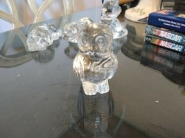 Princess House Crystal Owl Mint Condition - $9.89