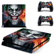 For Sony PS4 PlayStation 4 and 2 controller skins Joker Vinly Skin Sticker - $19.00