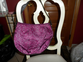 Liz Claiborne Bordeaux hobo shoulder bag - $29.50