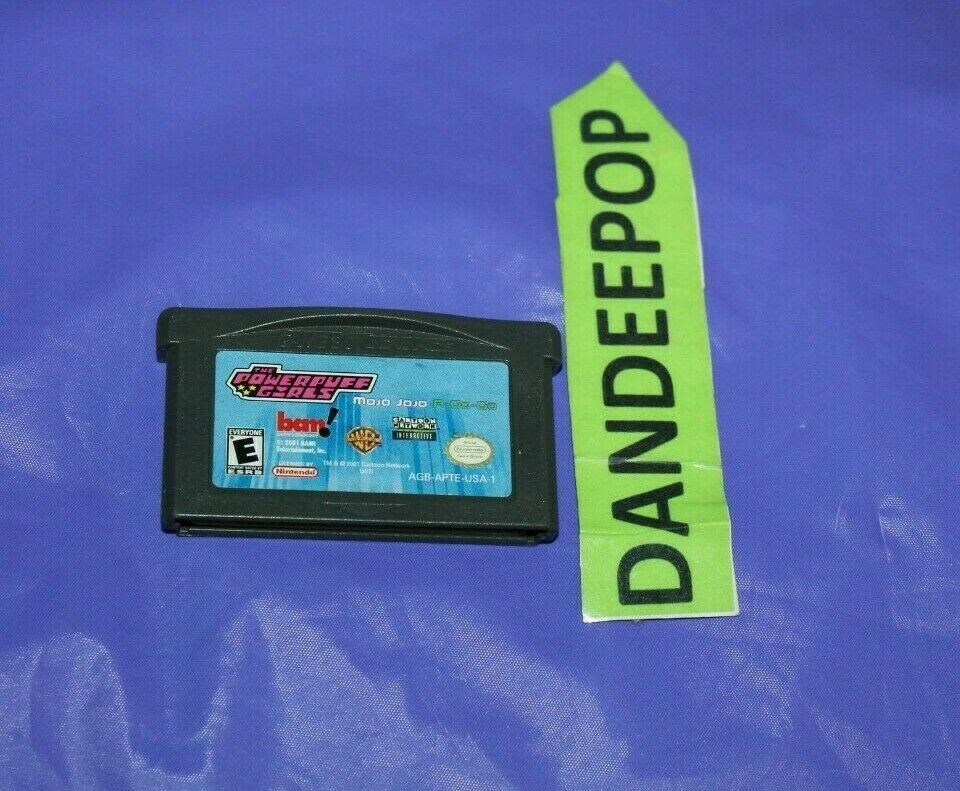 Nintendo Game Boy Advance The Powerpuff Girls Mojo Jojo Video Game