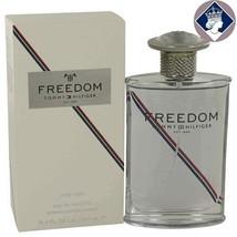 Tommy Hilfiger Freedom 3.4oz/100ml Eau De Toilette Spray Men Cologne Fra... - $63.72